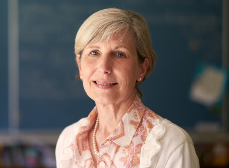 Teacher Sue Ann Lund