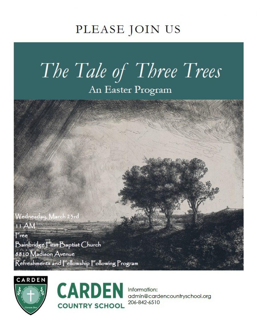 Tale Of Three Trees Ad